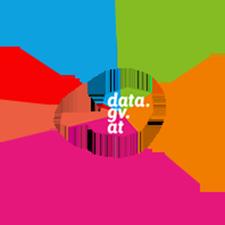 Logo data.gv.at in Kreis