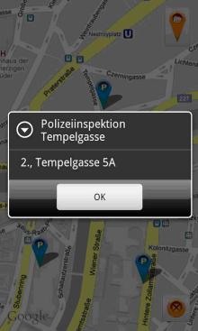 Vorschau OpenVienna – Android App