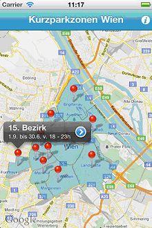 Kurzparkzonen Wien Datensätze Datagvat