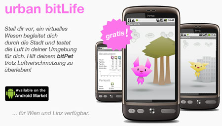 Vorschau Urban bitLife: mobile Applikation zur Luftgüte