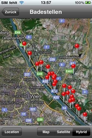 Vorschau Vienna Location Service
