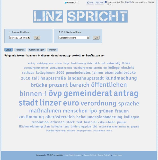 Vorschau Linz spricht