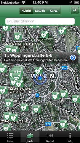 Vorschau Defis in Wien