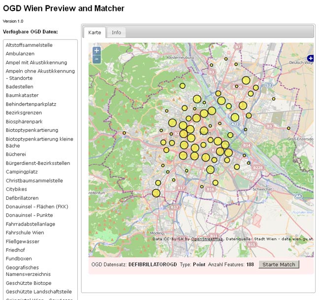 Vorschau OGD Wien Preview and Matcher