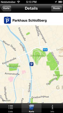 Vorschau Parken in Graz