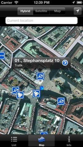 Vorschau Parkscheine in Wien