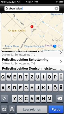Vorschau Polizeiinspektionen in Wien