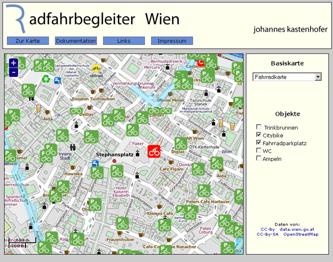 Vorschau Der Radfahrbegleiter für Wien