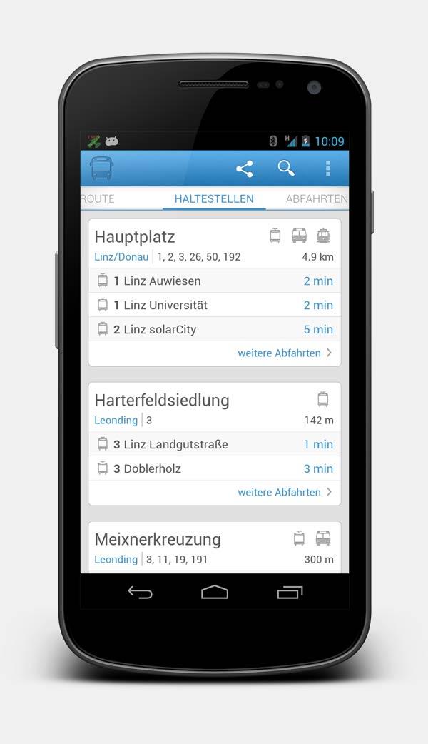 Vorschau Lilli – Linzer Linien: Routenplaner für Öffis der LINZ AG LINIEN