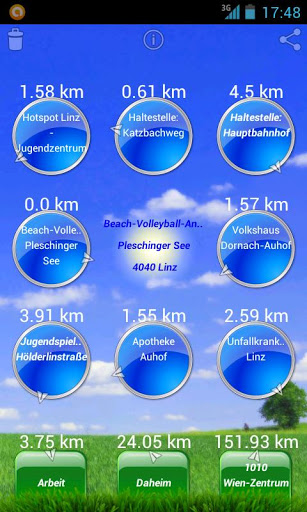 Vorschau Lingeo – Linzer GEO Datenbank