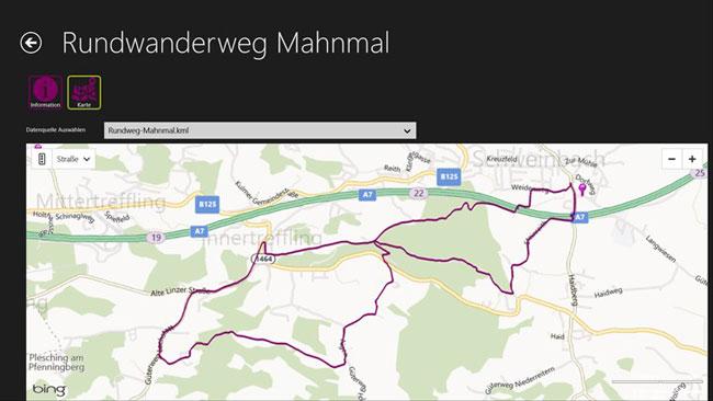Vorschau Open Data Browser Austria