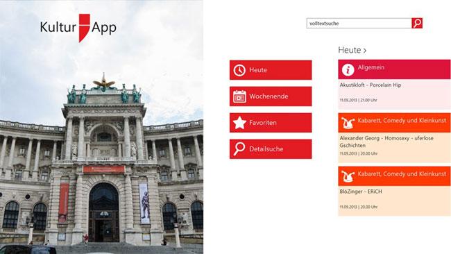 Vorschau Kultur;App