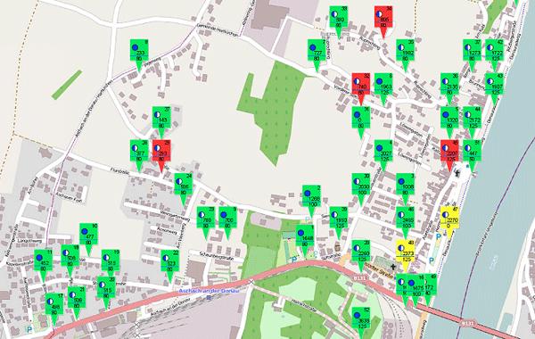 Vorschau wasserkarte.info – Wasserkarten für Feuerwehren