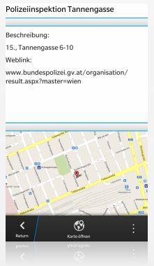Vorschau Polizeistationen Wien
