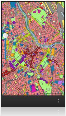 Vorschau Realnutzungskartierung Wien