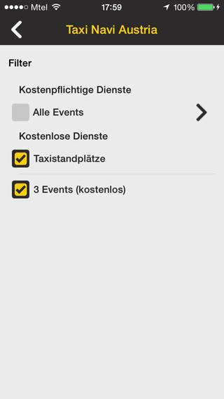 Vorschau TaxiNavi Austria