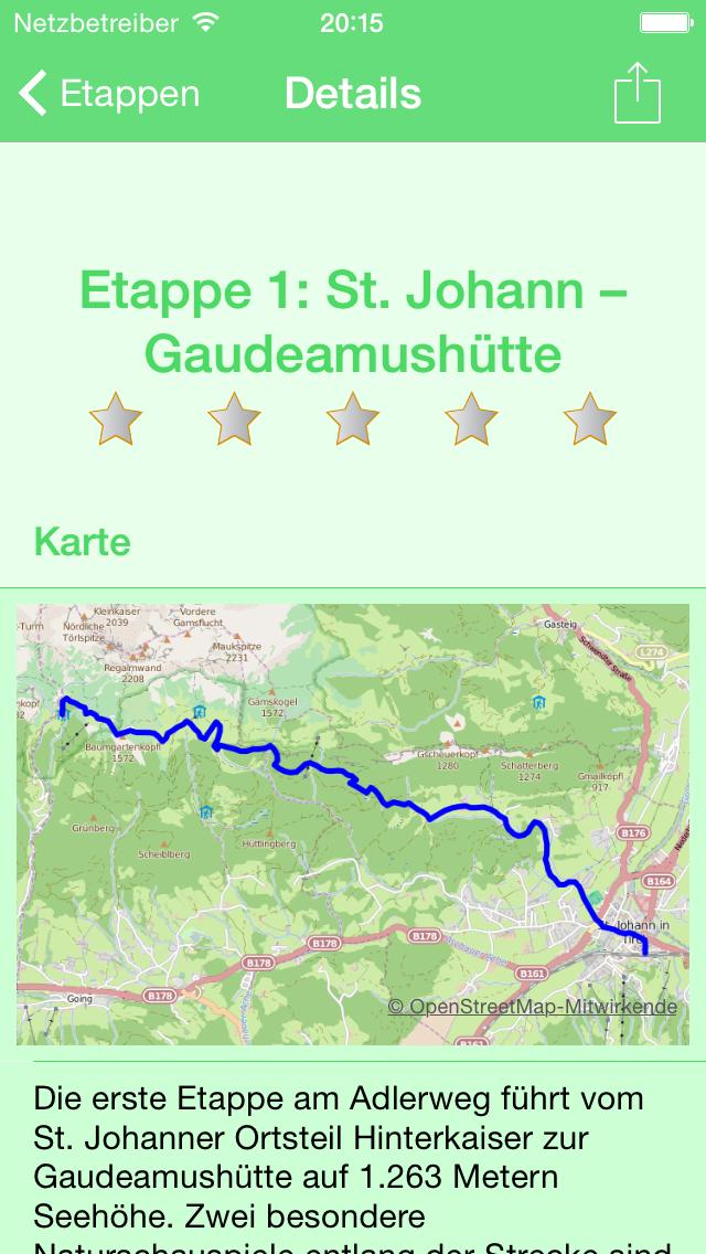 Vorschau Adlerweg Tirol – Der Wanderweg für deine Hosentasche