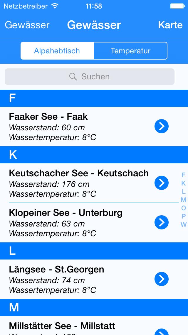 Vorschau H2K – Das Kärntner Wasser-App
