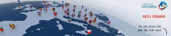 Banner European Data Portal