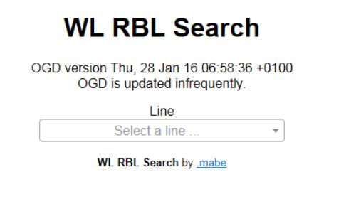 Vorschau WL RBL Search
