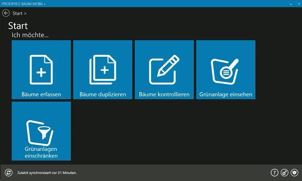 Vorschau ProOffice baum mobil+