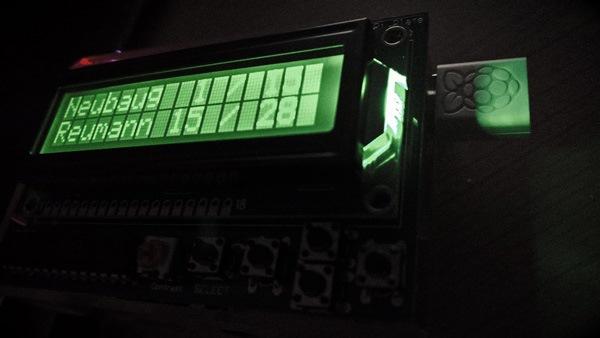 Vorschau Raspberry Pi Real-Time Public Transport Departure Monitor