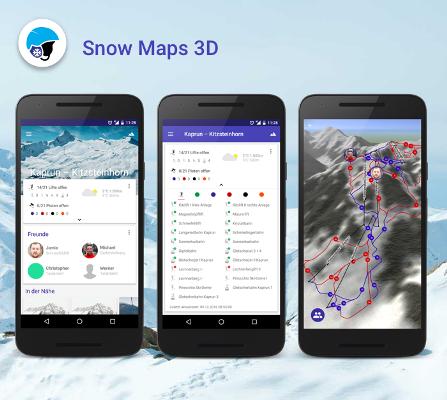 Vorschau Snow Maps 3D