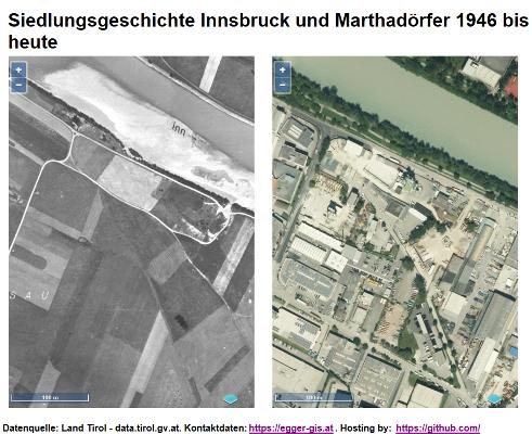 Vorschau Siedlungsgeschichte Innsbruck und Marthadörfer