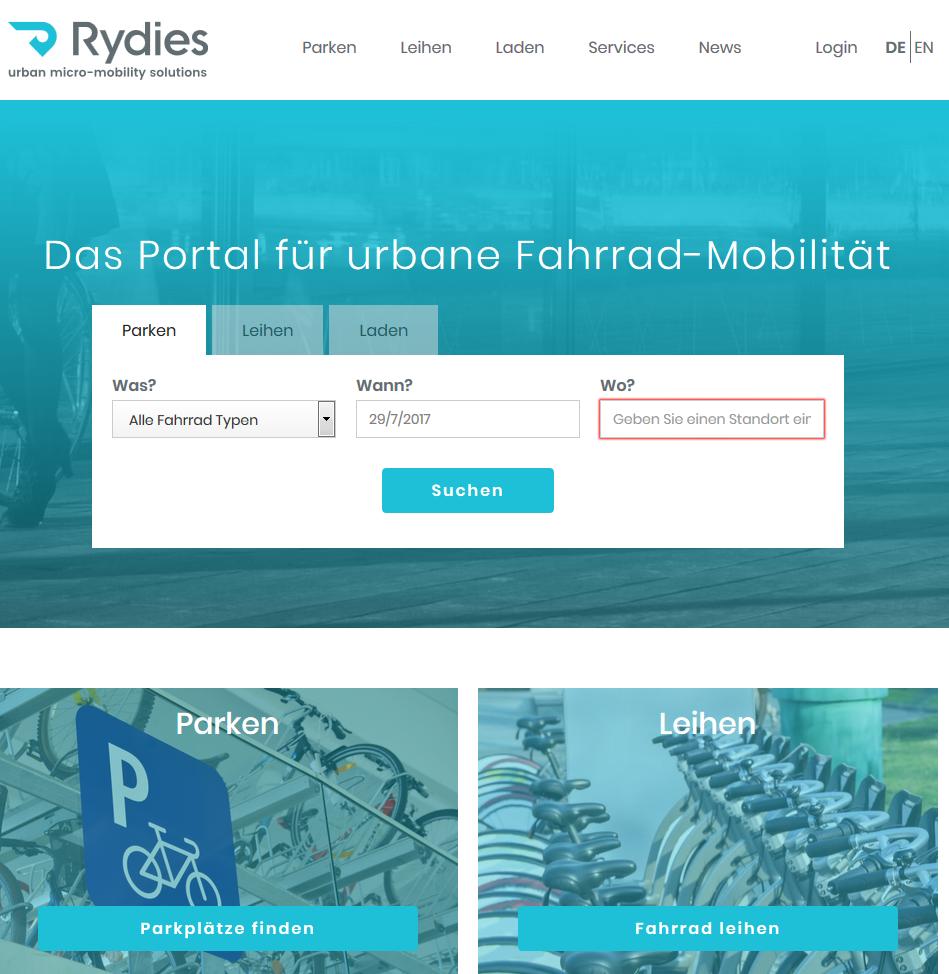 Vorschau Rydies – urban micro-mobility solutions