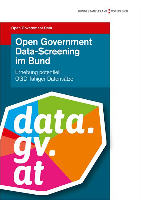 Open Government Data Screening Im Bund Bericht Zu Potentiell Ogd