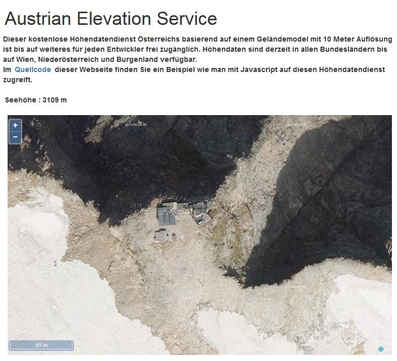 Vorschau Austrian Elevation Service