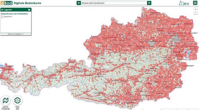 Vorschau Digitale Bodenkarte (eBOD)