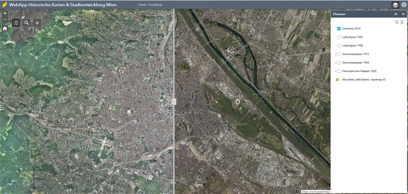Vorschau Historische Karten & Stadtentwicklung Wien