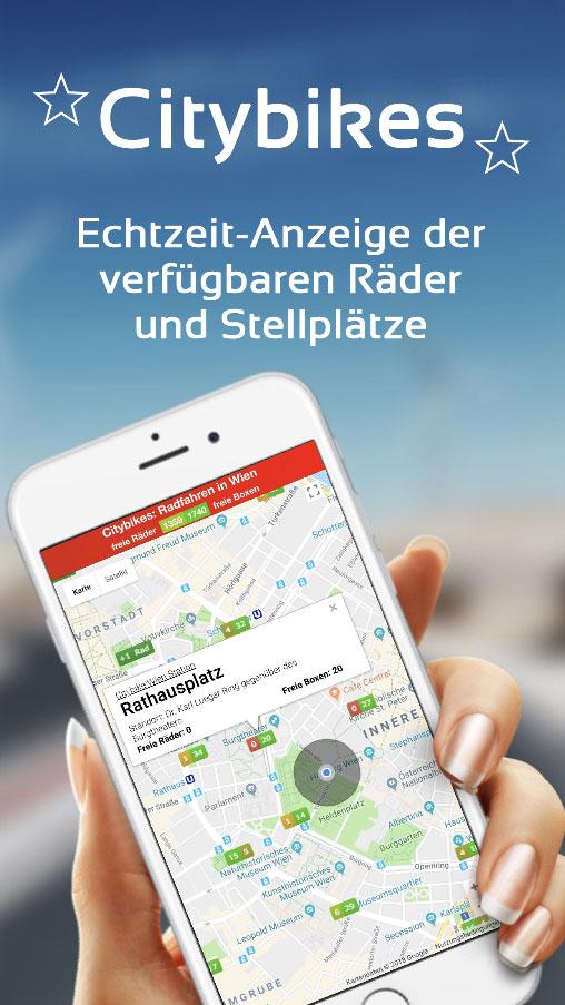 Vorschau Citybikes: Radfahren in Wien