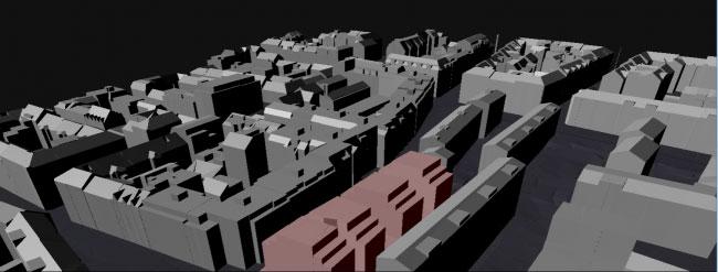 Vorschau Studie zur Visualisierung von Planänderungen des Flächenwidmungs- und Bebauungsplanes
