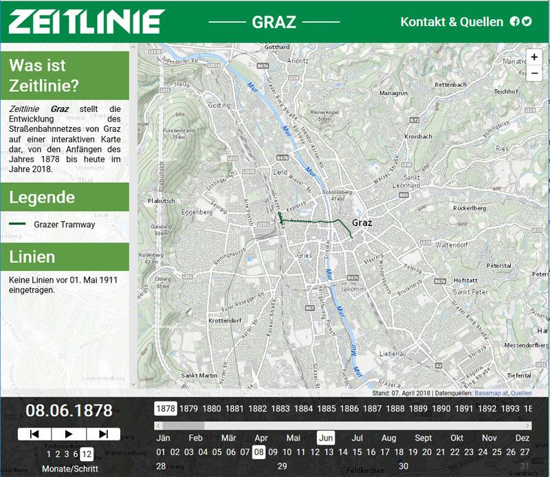 Vorschau Zeitlinie Graz
