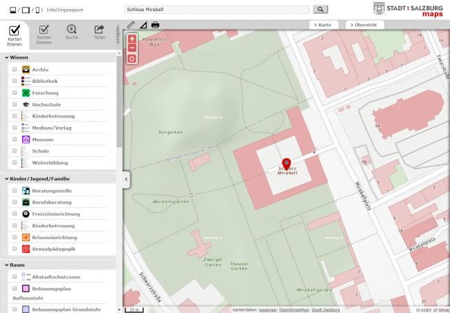 Vorschau STADT:SALZBURG maps