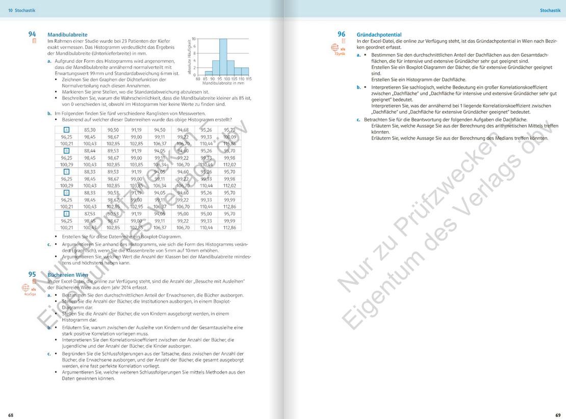 Vorschau Mathematik anwenden HAK/HUM – mündliche Reife- und Diplomprüfung, Maturatraining