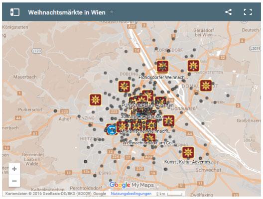 Vorschau Wiener Weihnachtsmärkte