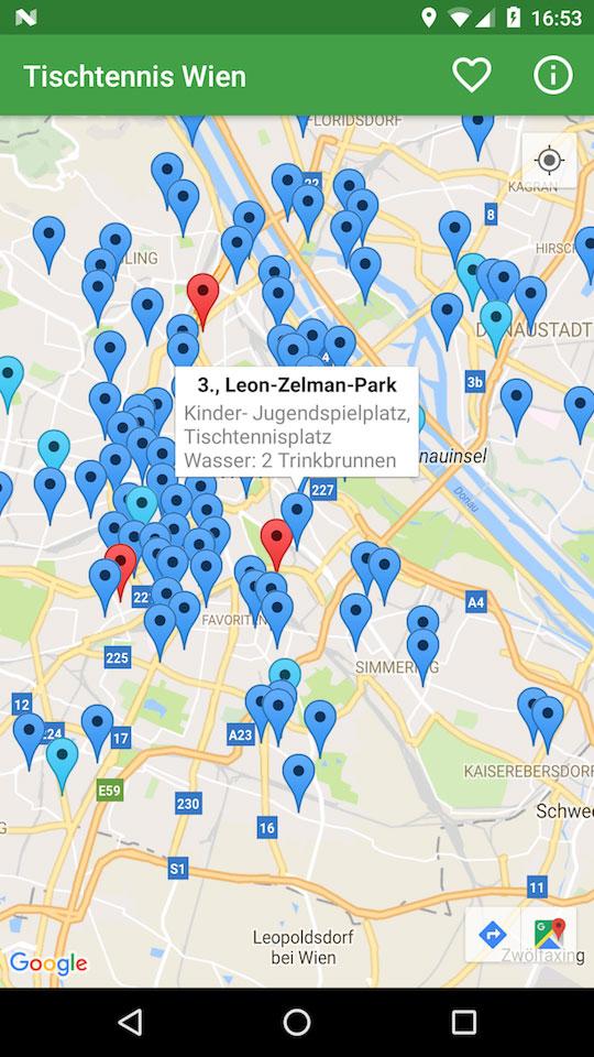 Vorschau Tischtennis Wien