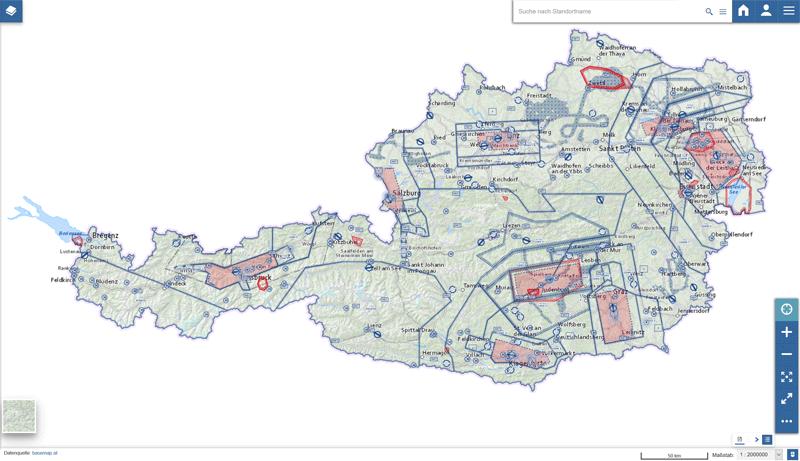 Vorschau Austro Control – Spatial Data Infrastructure (SDI)