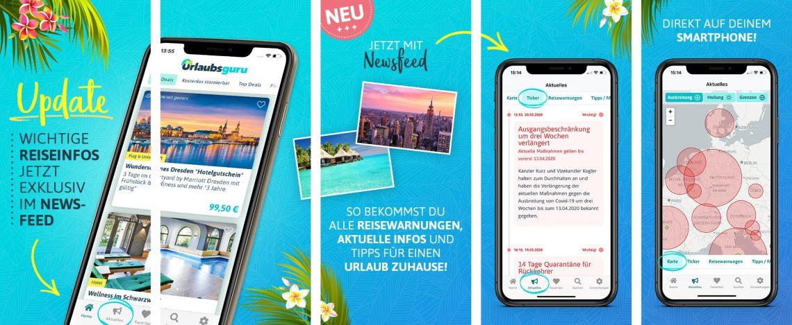 Vorschau Urlaubsguru App