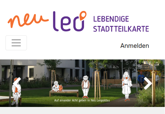 Vorschau Lebendige Stadtteilkarte Neu Leopoldau