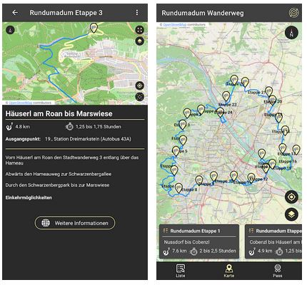 Vorschau Rundumadum – Android App