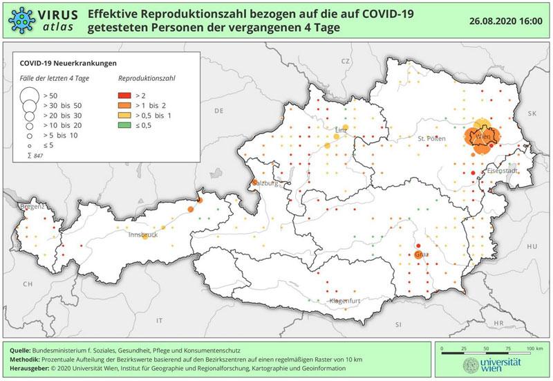Vorschau Virus Atlas Österreich