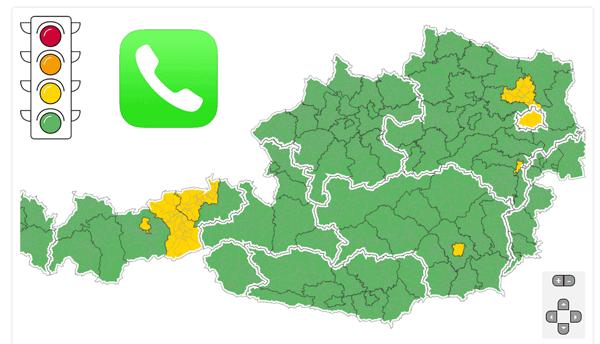 Vorschau Corona Ampel Status Infotelefon