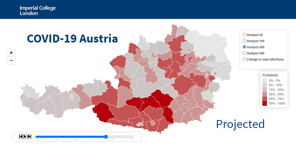 Vorschau COVID-19 Austria Hotspots