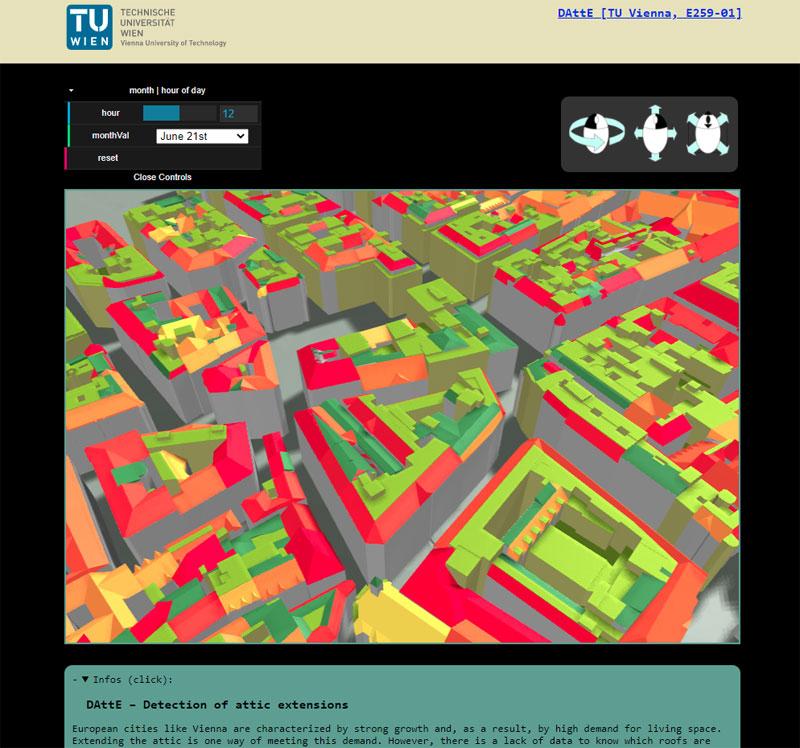 Vorschau DAttE – Detection of attic extensions
