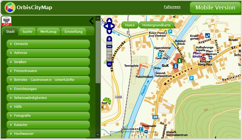 Vorschau Orbis-City-Map